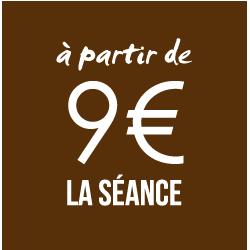 9 euros la séance